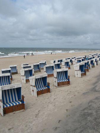 nautic: A typical north-european beach (island of Sylt)