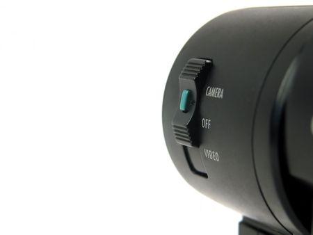 powerbutton: Close-up de poder-bot�n en la leva