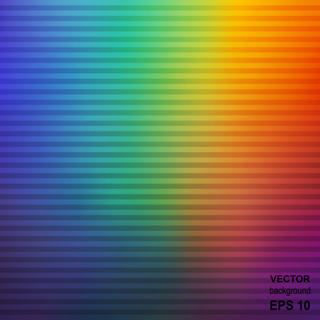 affiche: Colorful Striped Rainbow Abstract Background. Texture for Cover  Affiche  Placard  Poster.