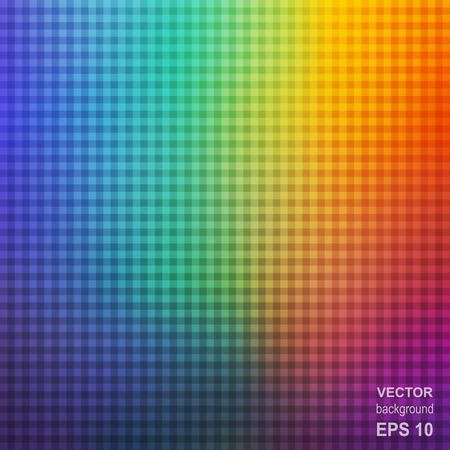 affiche: Colorful Square Rainbow Abstract Background. Universal Abstraction for Cover  Affiche  Placard  Poster. Illustration