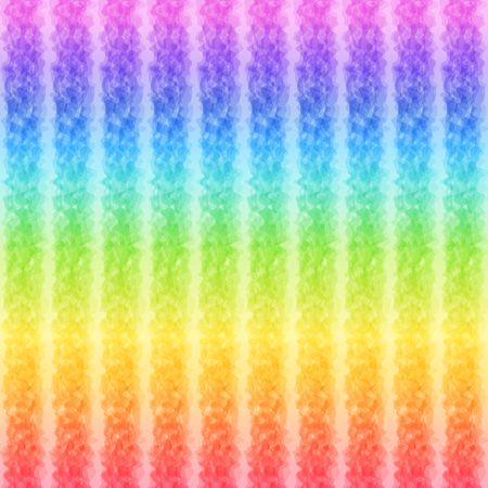 Stripe Pattern with Rainbow Colors, Continuous to Right and to Left. Colorful Universal Bright Abstract Background for Childrens Creativity.