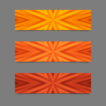 flamy: Set of Cards or Banners with Flamy Striped Texture. Collection Templates for Text, Message, Flyers, Cards. Illustration