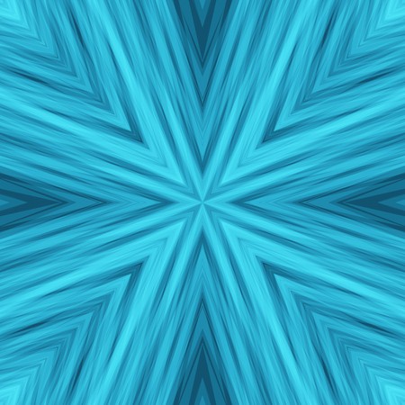 slanting: Blue Tender Striped Angular Background. Texture of Symmetric Intersecting Lines from Center. Illustration