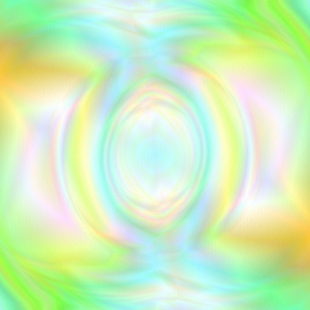 Universal Abstract Background with Realistic Holographic Effect. Stylized Water Swirl of Tender Colors.