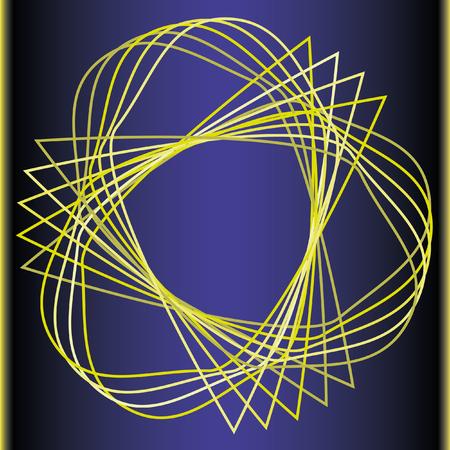 Geometric pattern symmetry symbol fractal pentagram