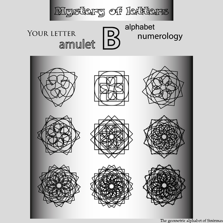 Secret of words, runes astrology personal amulet, cabbalism, numerology esoterics