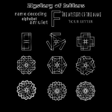 numerology: Secret of words, runes astrology personal amulet, cabbalism, numerology esoterics