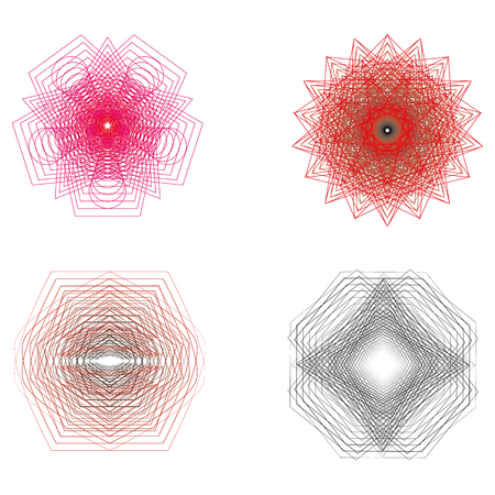 A stylish geometric pattern for the fashion industry