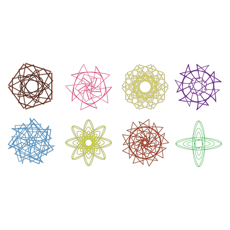 holiday Christmas patterns and snowflakes symbol