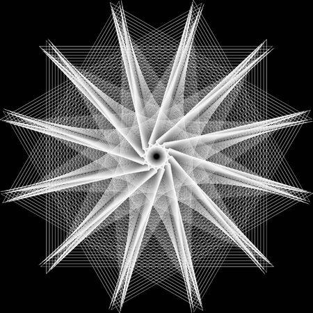 A stylish geometric pattern for the fashion industry crystal Фото со стока - 131982736