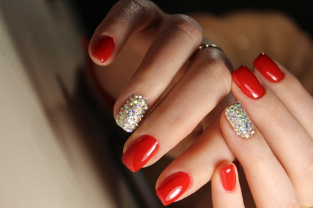 The best manicure doses in August 2017 Stok Fotoğraf - 89459513