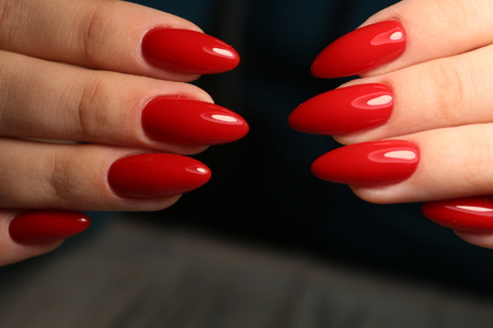 manicure of nails