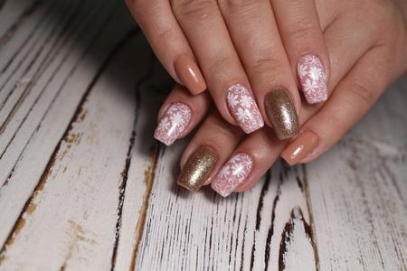 sexy manicure of nails Reklamní fotografie - 121502172
