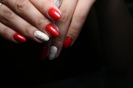 The beauty of the natural nails. Perfect manicure