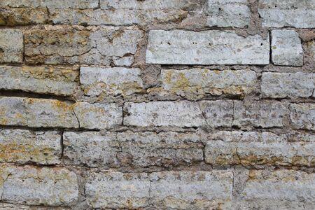 Brickwork, a beautiful wall. Interesting stone background 2019