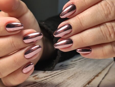 Fashionable design of manicure. Best 2019