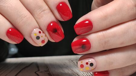 Beautiful Female Hands. Beautiful hand with perfect nail 2019