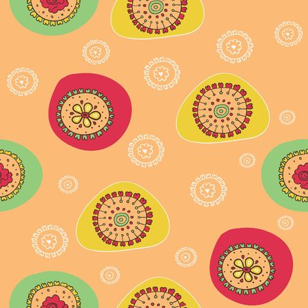 Seamless floral pattern Stock Vector - 18463262