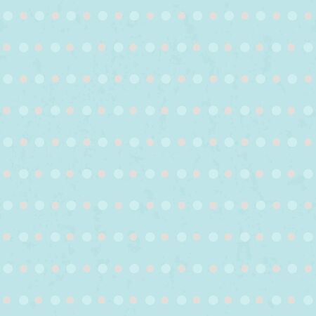 paint drop: Polka dots seamless vintage pattern