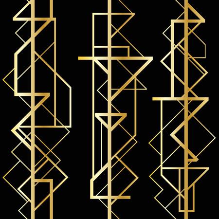 Abstrakte geometrische Muster Illustration