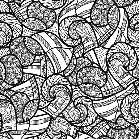 viking: Seamless ethnic pattern, vector illustration