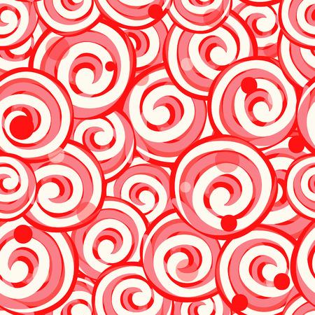 Seamless colorful lollipop pattern, vector illustration