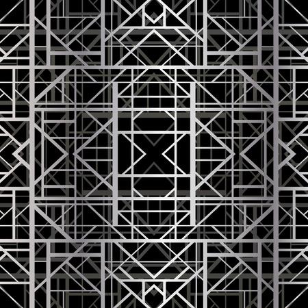 slanted: Modelo geom�trico abstracto en estilo art deco