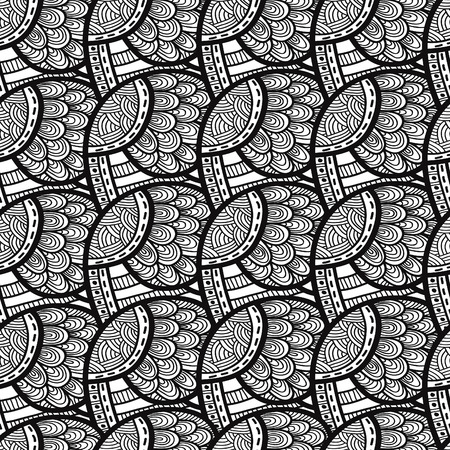 waves pattern: Abstract waves pattern