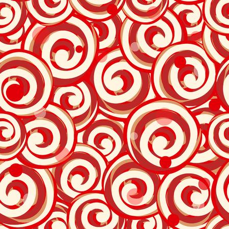 Seamless lollipop pattern