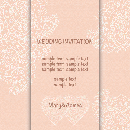 perls: Wedding invitation