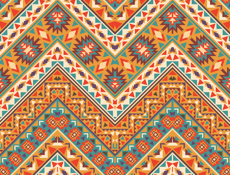 tribales: Patr�n navajo colorido incons�til