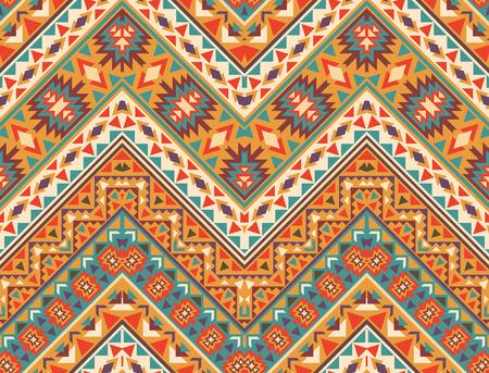 tribal: Seamless colorful navajo pattern Illustration