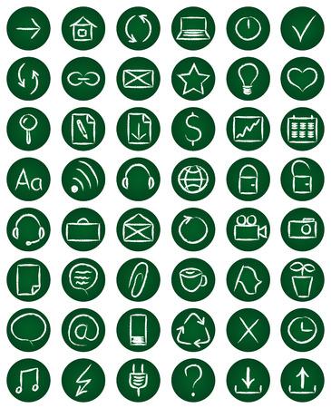 48: Set of 48 web icons