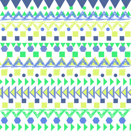 softly: Seamless geometric pattern Illustration