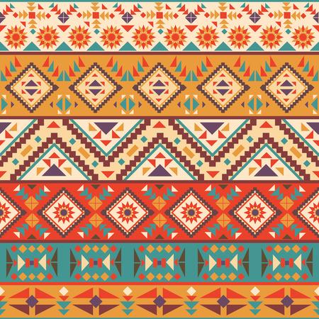 Seamless navajo coloré Vecteurs