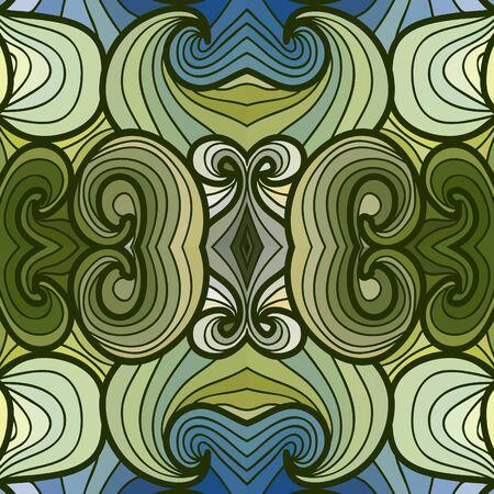 waves pattern: Seamless waves pattern Illustration