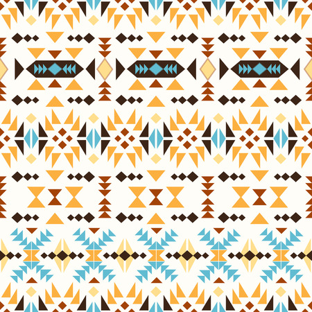 navajo: Seamless colorful navajo pattern Illustration