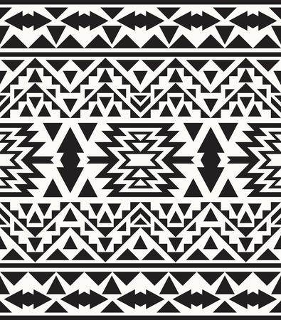 tribales: Modelo incons�til navajo blanco y negro