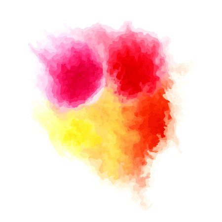 splash abstract: Abstract watercolor splash. Watercolor background. Vector illustration. Illustration