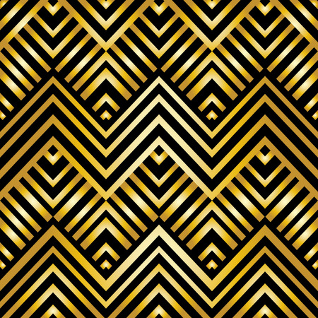 diamond shape: Art deco geometric pattern, vector illustration