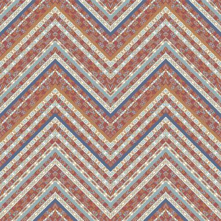 Motif textile sans couture géométrique ethnique Vecteurs