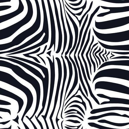 Zebra skin seamless pattern