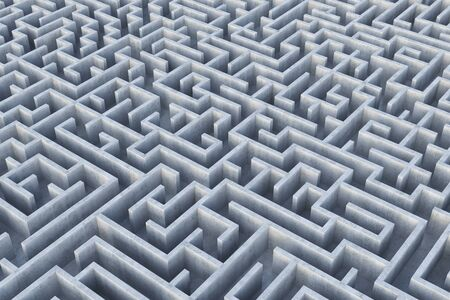 Labyrinth. 3d Illustration.