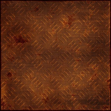 illustration of rusty metal background Stock Illustration - 3736717