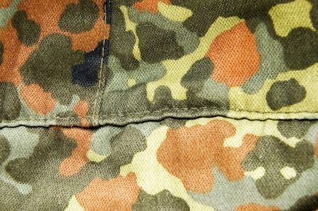 the fabric military camouflage background
