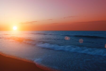 background of sunrise on ocean Stock Photo - 3741492