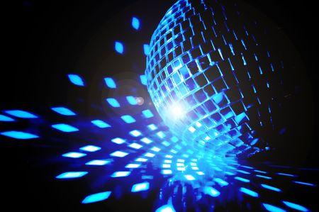 disco ball background close up Stock Photo - 3761274