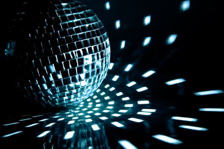 party ball light reflection backgrounds Stock Photo - 3761280