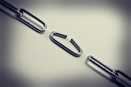 cadena rota: roto la cadena en un c�rculo de luz