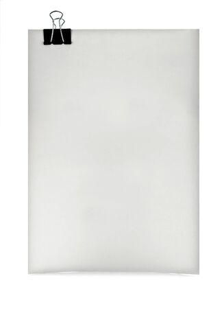 poor sheet isolated on white photo